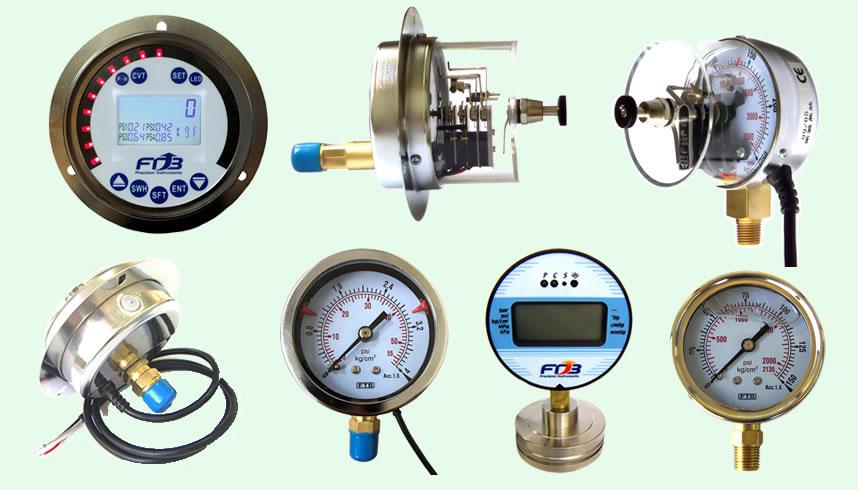 台湾双叶电接点压力表、表式压力开关、数位式压力表、数位式压力传感器